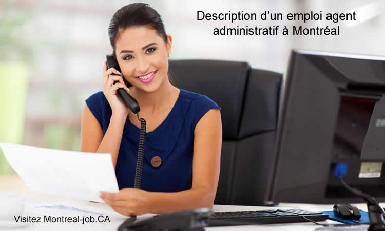 Description d'un emploi agent administratif